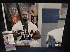 "Dennis Haysbert Autographed Pedro Cerrano ""Major League"" 11x14 Photo – JSA Cert"