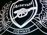 NIKE ARSENAL GUNNERS FC Jersey Shirt Official Soccer Football Kit RARE 125 YEARS