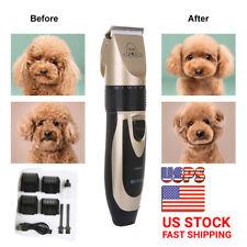 Pet Dog Cat Grooming Clipper Hair Trimmer Groomer Shaver Razor Quiet Clipper US