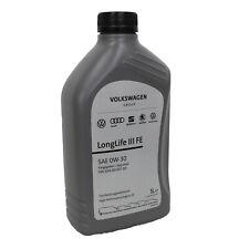 1 Liter Original 0W-30 früher 5W-30 VW Audi Seat Skoda Motoröl 504/507