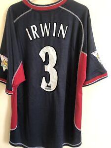 Manchester United Third Shirt 2000/01 Size XL IRWIN