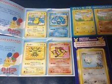 Japan Pokemon Card ANA Special Version Promo Pikachu Zapdos Moltres Articuno etc