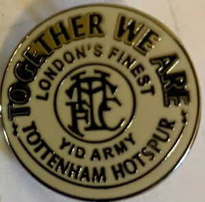 Spurs Pin Badge STYLE 2 - NEW - SPURS Football