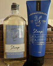 Bath and Body Works Aromatherapy SLEEP gift set - Body Wash & Cream
