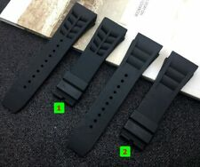 Fits for Richard Mille, 20mm Waterproof Rubber Silicone Watch Band Strap + Tools