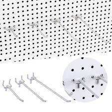 10pcs Pegboard Hooks Display Hanger Set For Supermarket Store Shelf Rack 2.5cm