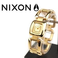 Authentic Ladies Nixon THE SISI Gold Bracelet Watch. NIB, RRP $269.95.