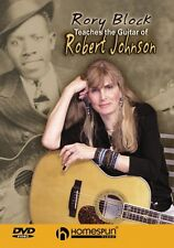 Rory Block Teaches the Guitar of Robert Johnson DVD One Instructional 000641810