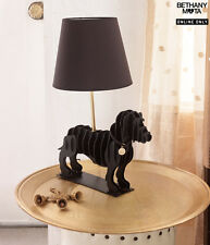 "Aeropostale Room Bethany Mota Decor Dachshund Lamp & Shade Black 15.54""x9.84""x21"