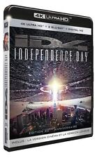 INDEPENDENCE DAY ID4  (4K ULTRA HD)- Blu Ray - Sealed Region free /B
