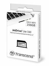 "Transcend 256GB JetDrive Lite 330 Expansion Card for 13"" Macbook Pro Retina AU"
