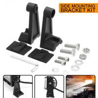 2PCS Universal LED Work Light Bar Side Mounting Bracket Aluminum Car   G