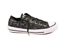Converse Women CTAS Sparkle Knit 553414C Sneakers Black/White UK4 RRP £59 BCF81