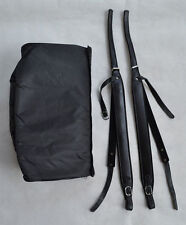 Genuine Leather Accordion Straps and  Gig CASE Bag for 120 Bass  NEW