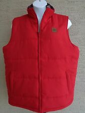 Women's Field & Stream  Microfiber Shell Quilted Vest Red XL