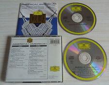 RARE 2 CD ALBUM CLASSIQUE COMPILATION AMERICA AMERICA GERSHWIN BERNSTEIN 1995