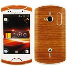 Skinomi Light Wood Body Skin+Screen Cover for Sony Ericsson Live with Walkman