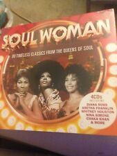SOUL WOMAN 80 Timeless Classics [4xCD 2018] New/Ross/Freeez/Rae/Chic/Shanice/Amy