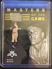 2016 Panini Diamond Kings Roger Maris Yankees Game used relic #ed 84/99