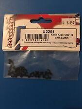 "Schumacher U2251 1/8"" Kwik Klip Set (1.0 & 2.0mm) (16)"