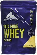 Percent Pure Whey Protein Powder -Multipower 450g - Banana Mango