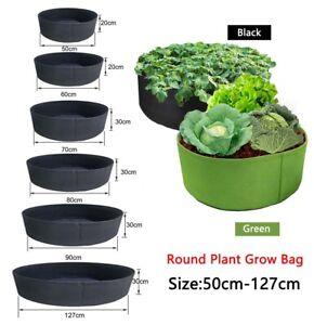 Big 50-127cm vegetable fruit flower fabric Grow Bags pot for plants home garden