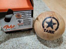 """Motiv Desert Tank 1st Quality Bowling Ball    15 Pounds   2.6"""" Pin   2.3oz TW"""