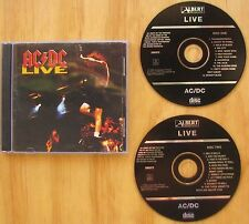 AC/DC LIVE....2  CD SET....ALBERT 335372... INCLUDES POSTER