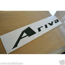 LUNAR Ariva - (STYLE 2) - Caravan Roof Name Sticker Decal Graphic - SINGLE