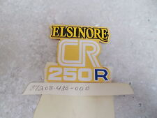 NOS OEM Honda Side Cover Emblem 1978 CR250R 87203-430-000
