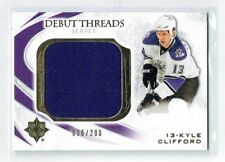 10-11 UD Ultimate Debut Threads  Kyle Clifford  /200  Jersey  Rookie