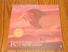 The Lion King Movie Poster Rhythm of the Pride Lands Flat Promo 12x12 Soundtrack