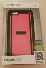"Trident Cyclops Series Sleek Armor Case For iPhone 6/6s/7 Plus (5.5"") Pink/Black"