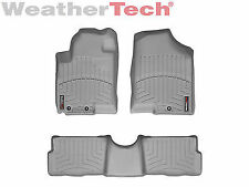 WeatherTech Floor Mats FloorLiner for Kia Soul - 2011-2013 - 1st & 2nd Row -Grey