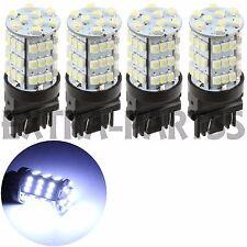 4 X 6000K White 3157 54-SMD Super Bright LED Backup Reverse DRL Lights 3156 3057