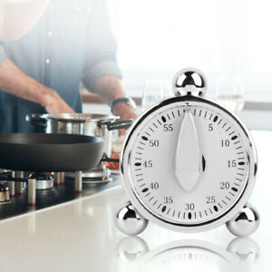 60 Minute 1 Hour Mechanical Kitchen Cook Cooking Timer Food Preparation Baking