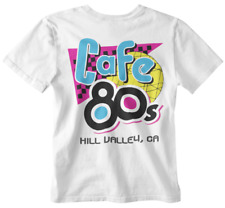 Cafe 80s T-shirt Inspired Back to the Future McFly Tumblr Dad xmas Film Tee doc