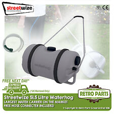 51 Litre Fresh Water Hog Caravan Motorhome Water Rolling Container Barrel