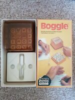 Vintage 1978 boggle - hidden word game by parker 1-8 players
