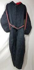Vintage Insulated Hooded Snow Suit Zipper Button and Hood World Wide Trading Co