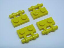 LEGO 2540 @@ Plate, Modified Handle on Side - Yellow x 4 - 3366 6199 7249 76034