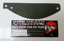 AGV, PISTA GP, CORSA, GT VELOCE,VISOR,TEAR OFFS,LIGHT TINTED,-BOB HEATH VISORS