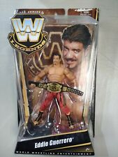 WWE Mattel Elite Legends Series 6 EDDIE GUERRERO with belt MOC Damaged Package