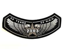 HOG 2003 Members Patch Harley-Davidson 100th Anniversary