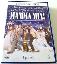 MAMMA MIA! PARTY EDITION 2 DVD FILM ITALIANO OTTIMO SPED GRATIS SU + ACQUISTI!