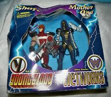 Shaft & Mother-One (McFarlane Toys 1995) Youngblood/Wetworks Collectors Set, NIB