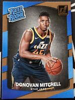 2017-18 DONRUSS RATED ROOKIE Donovan Mitchell RC #188 Utah Jazz 📈