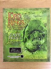 W. Britain Lord Of The Rings Fellowship Of The Ring Hand Paint Figure Cave Troll