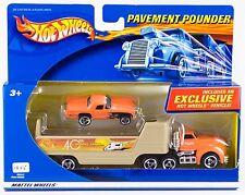 Hot Wheels 2002 Pavement Pounder Treasure Hunt 40th Desert Team '57 T-Bird New