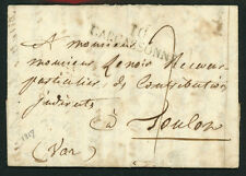 Stampless Cover - 1817 Carcassone France   S1029